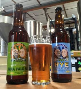 West Coast India Pale Ale and Rye Pale Ale