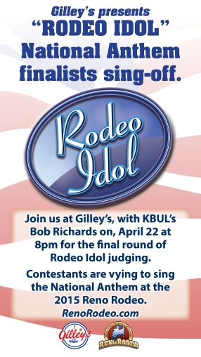 Rodeo Idol - April 22 at Gilley's