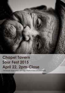 Sour Fest 2015 at Chapel Tavern