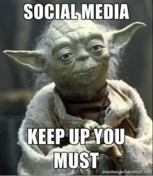 Yoda Social Media Advice
