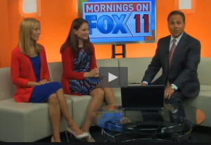 Fox 11 Morning Show - Star Spangled Sparks